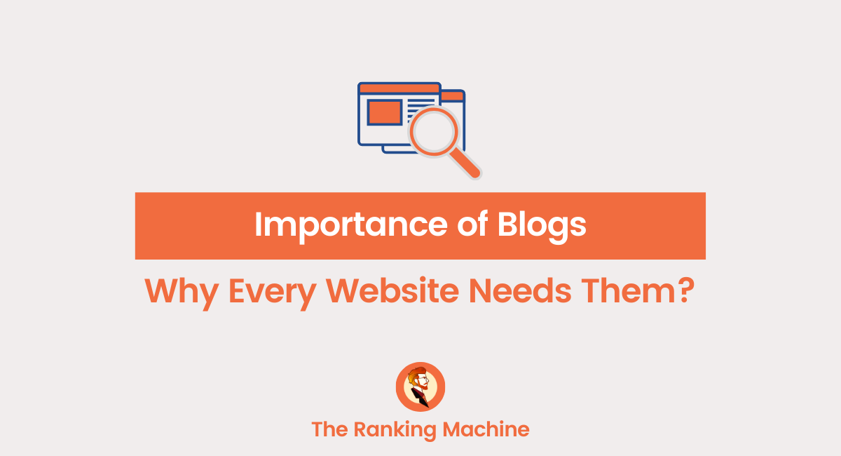 Why Business Websites Need Blogs