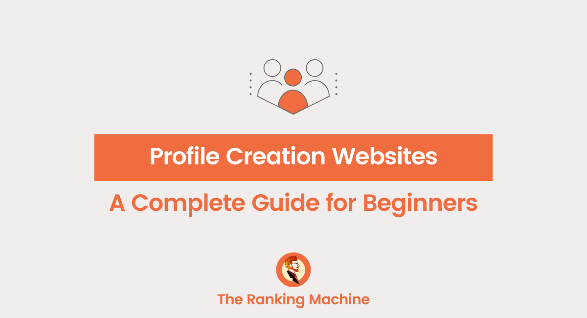 Profile Creation Websites