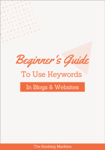 Beginners Guide to Use Keywords